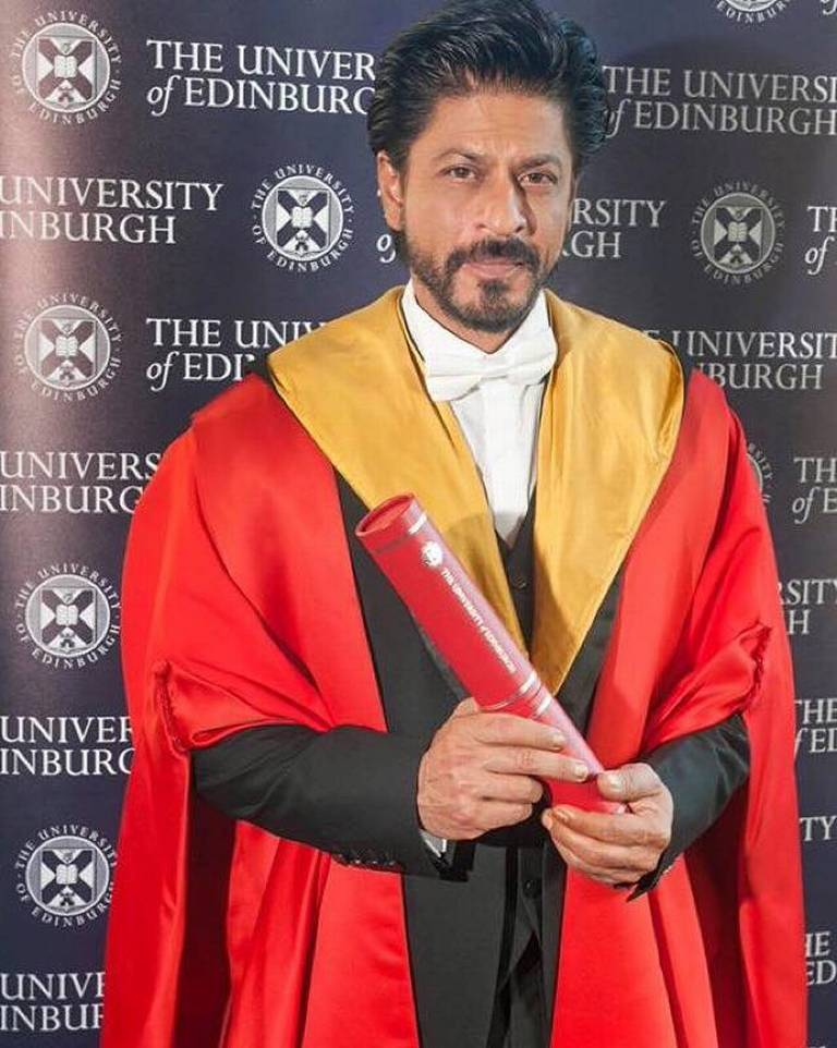King Khan Receives Honorary Doctorate from Edinburgh University-17
