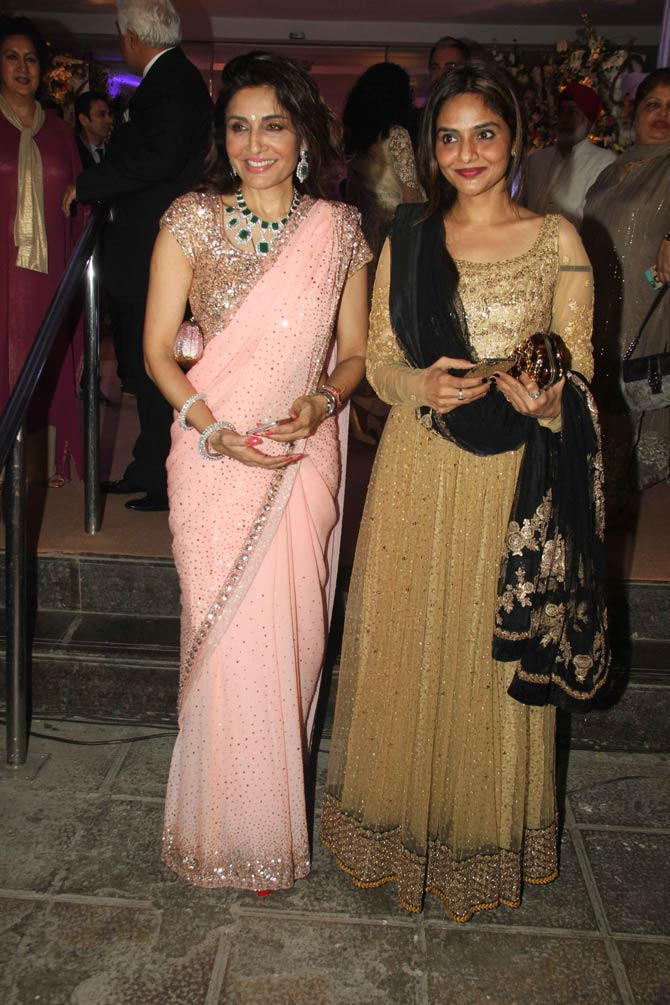 Kishore Bajajs Daughter Kreshas Wedding Reception