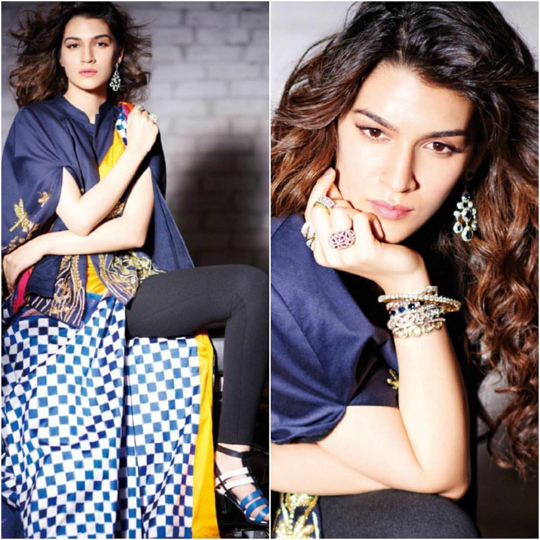 Kriti Sanon Photoshoot for Cineblitz Magazine 2016