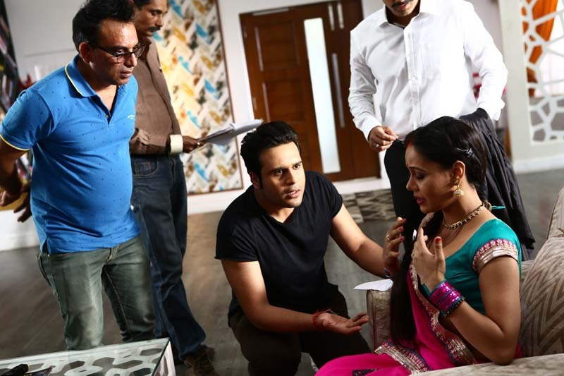 Krushna Abhisek On The Sets Of Full2 Jugadu Movie