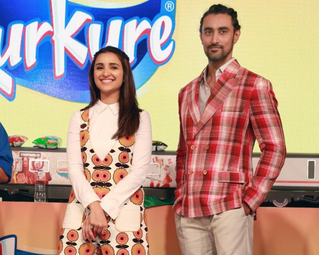 Kunal Kapoor and Parineeti Chopra promote Kurkure brand
