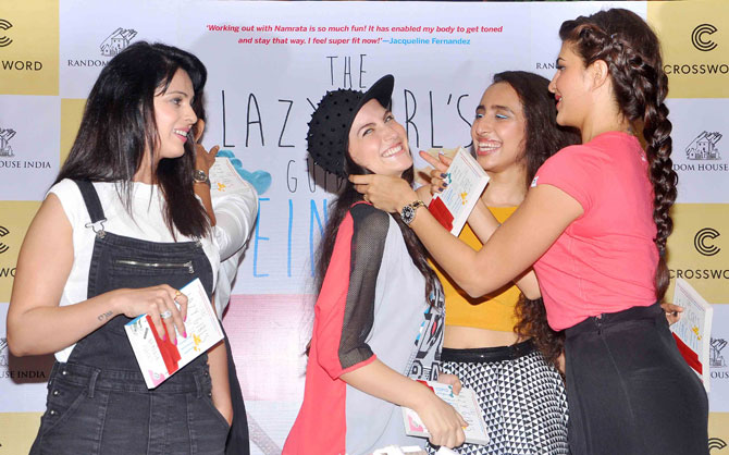 The Lazy Girls Guide To Being Fit Book Launch-12