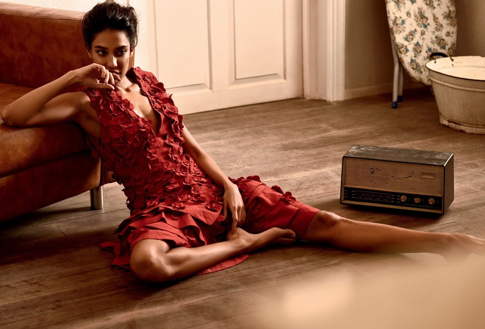 Lisa Haydon Photoshoot for Harpers Bazaar India June 2016