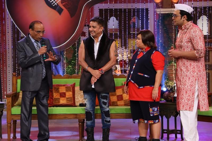 Sukhwinder Singh, Bharti Singh & Krushna Abhishek