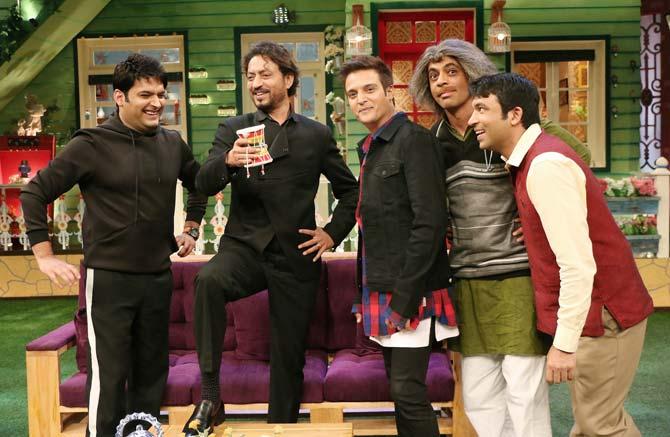 Irrfan Khan, Jimmy Shergill, Kapil Sharma, Sunil Grover & Chandan Parbhakar