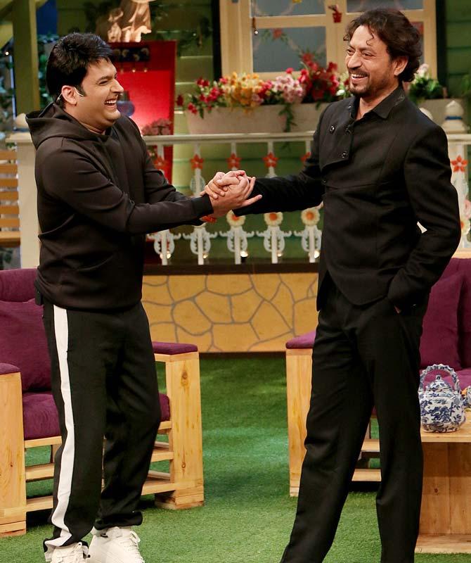 Irrfan Khan & Kapil Sharma