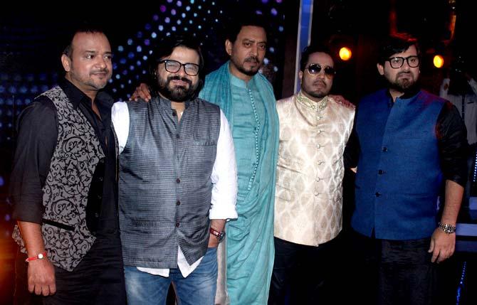 Irrfan Khan, Mika Singh, Wajid Ali, Sajid Ali & Pritam