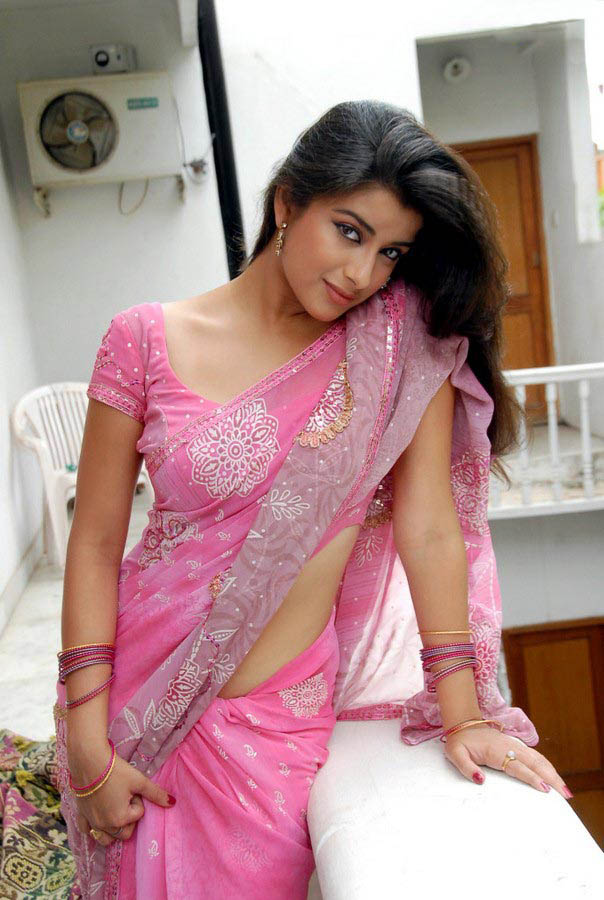 Madhurima Banerjee Hot In Pink Saree Photo - 03