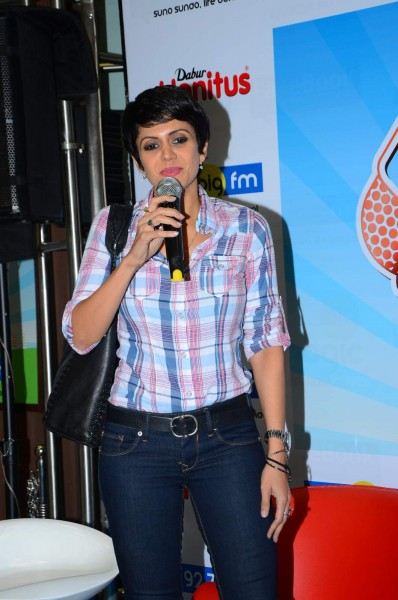 Mandira Bedi at 92.7 Big FM