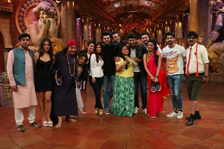 Manish Paul On The Sets Of COLORS Show Comedy Nights Bachao
