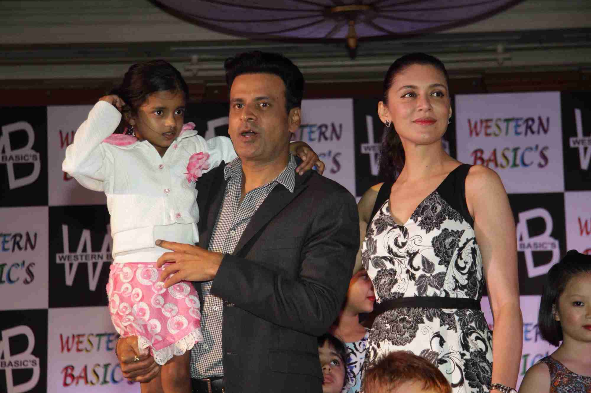 Manoj & Neha Bajpai Launches New Kids Wear Fashion Brand Western Basics in Mumbai