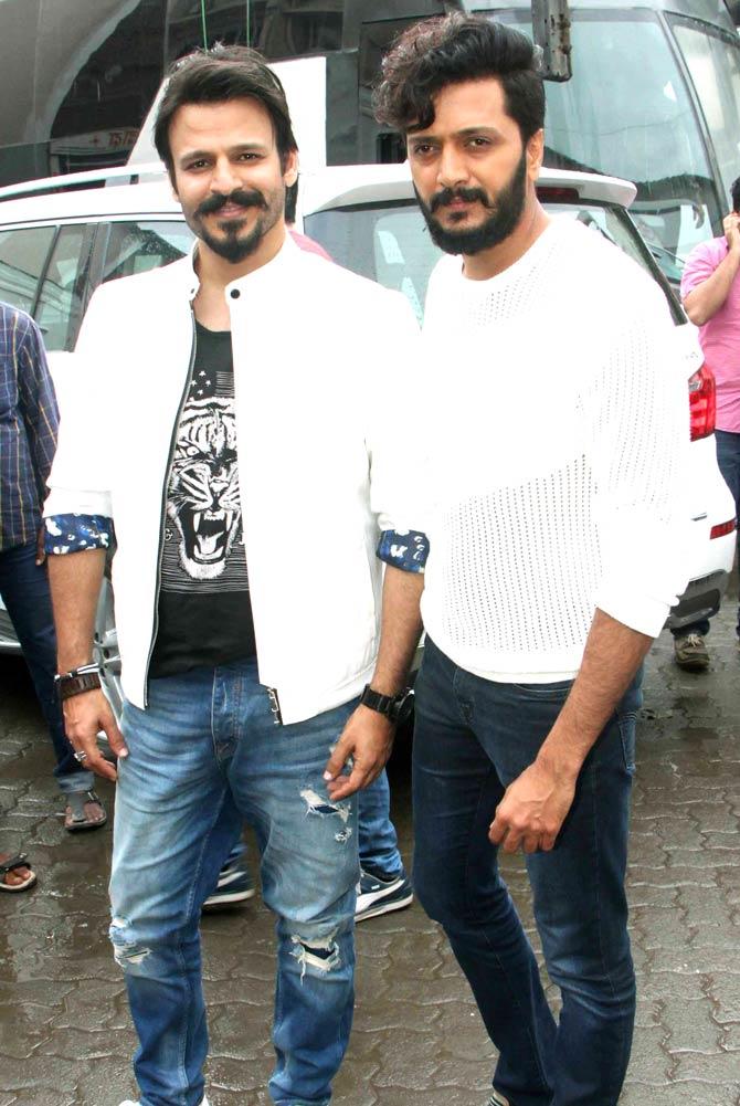 Vivek Oberoi & Ritesh Deshmukh