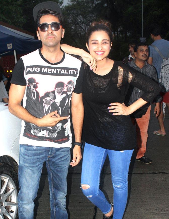 Ayushman Khurana & Parineeti Chopra