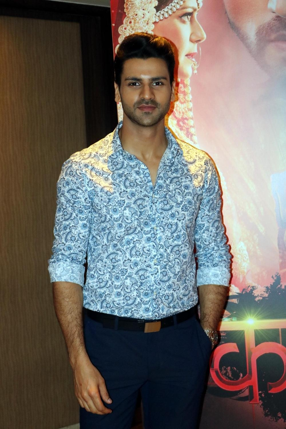 Mona Singh and Vivek Dahiya Promoted TV Show Kavach…Kaali Shaktiyon Se in New Delhi