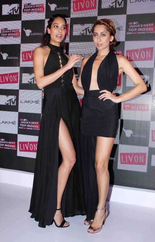Bollywood actors Lisa Haydon and Anusha Dandekar