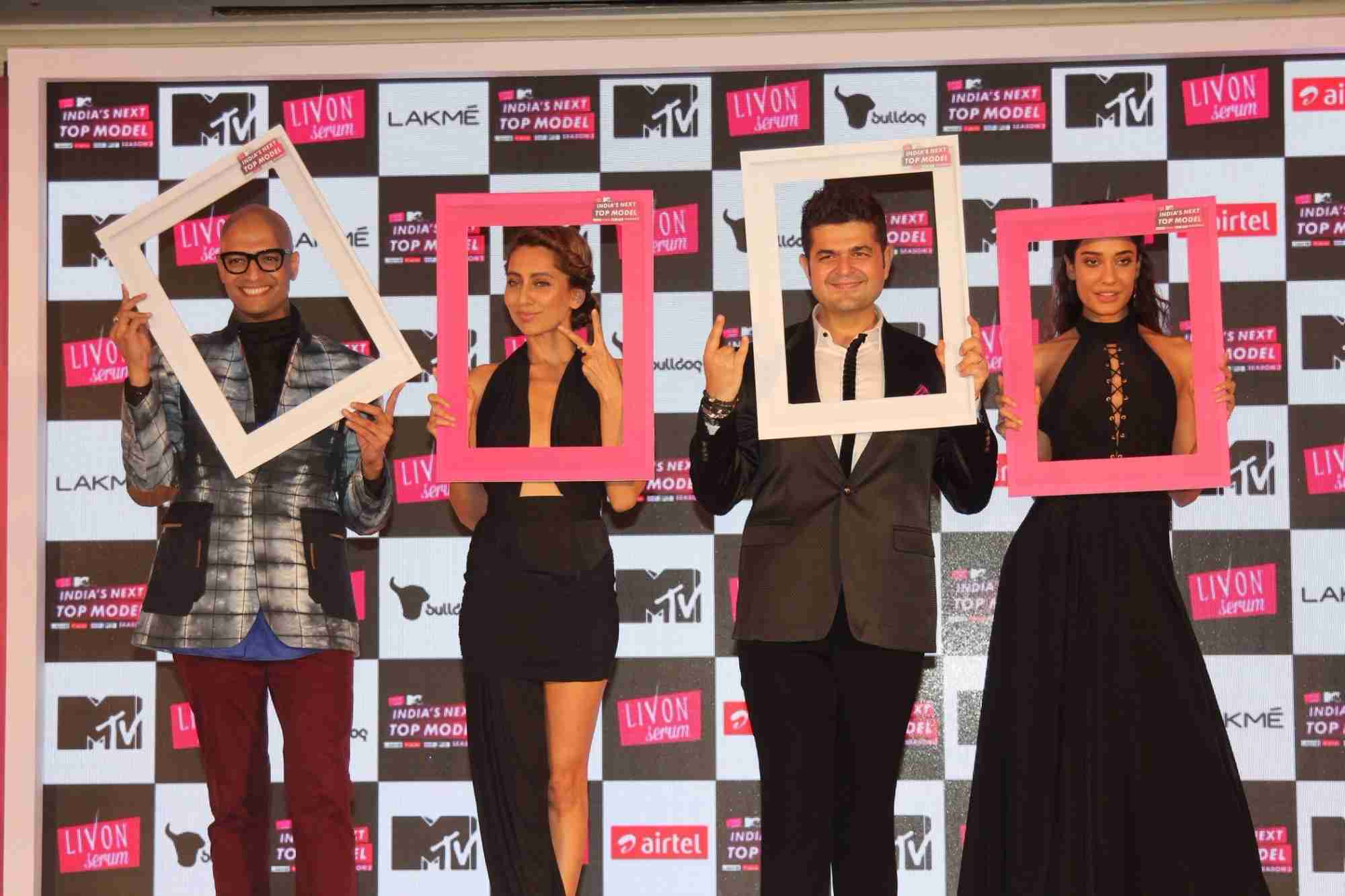 Dabboo Ratnani, Lisa Haydon & Anusha Dandekar