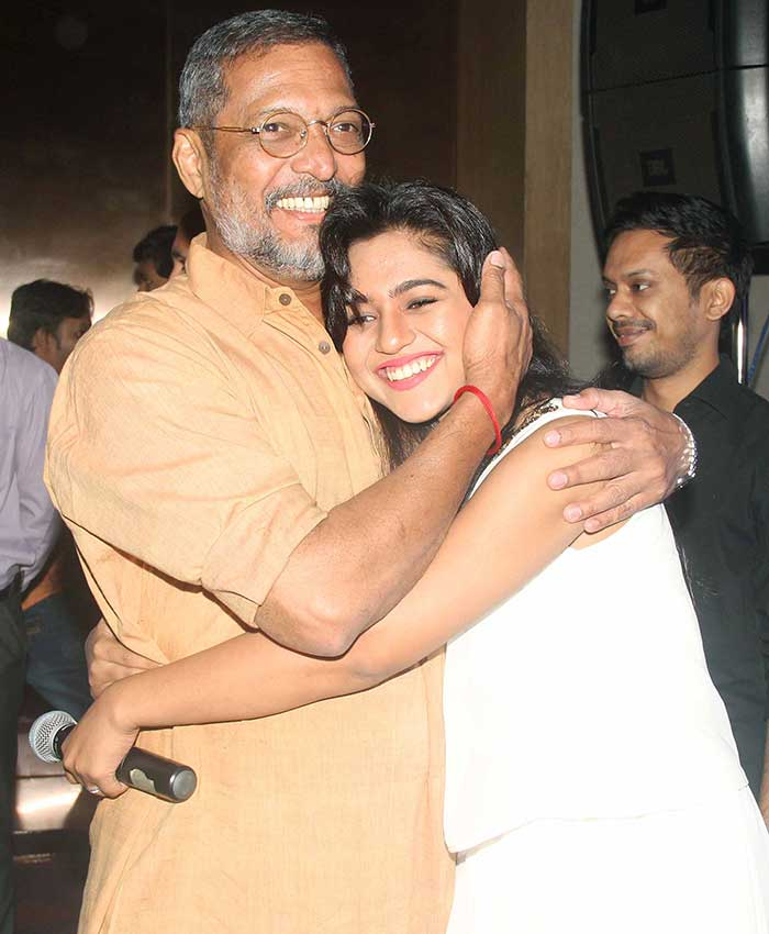 Nana Patekar & Mahesh Manjrekar Celebrate Natasamrat Success Party