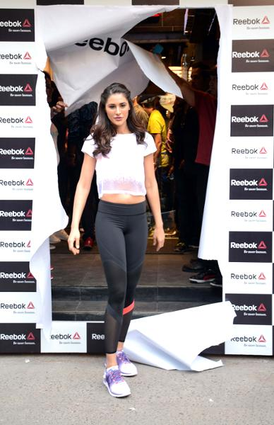 Nargis Fakhri Launch Of The Fit Hub Store in New Delhi