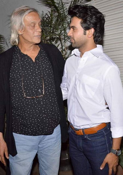 Naseeruddin Shah And Manoj Bajpai Special Screening Of Film Aligarh