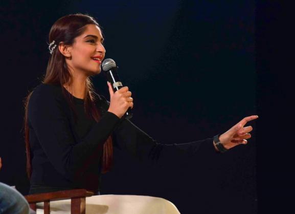 Sonam Kapoor Attends Kala Ghoda Arts Festival 2016-19