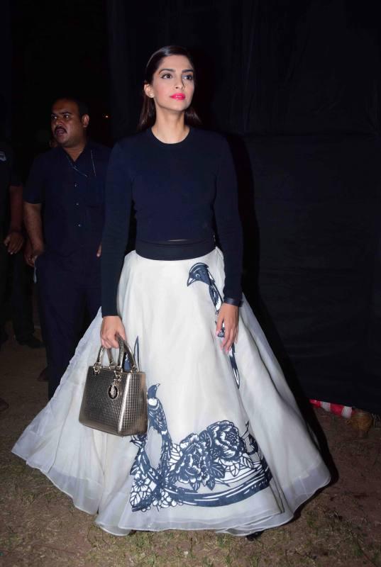 Sonam Kapoor Attends Kala Ghoda Arts Festival 2016-21