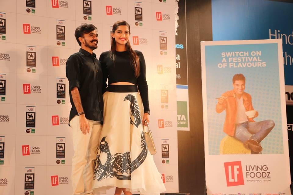 Sonam Kapoor Attends Kala Ghoda Arts Festival 2016-27
