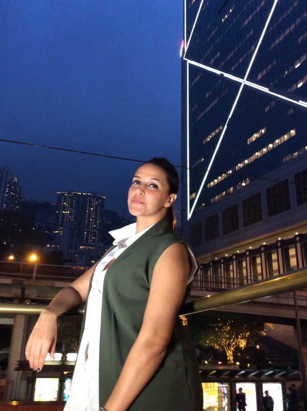 Neha Dhupia at Discover Hong Kong