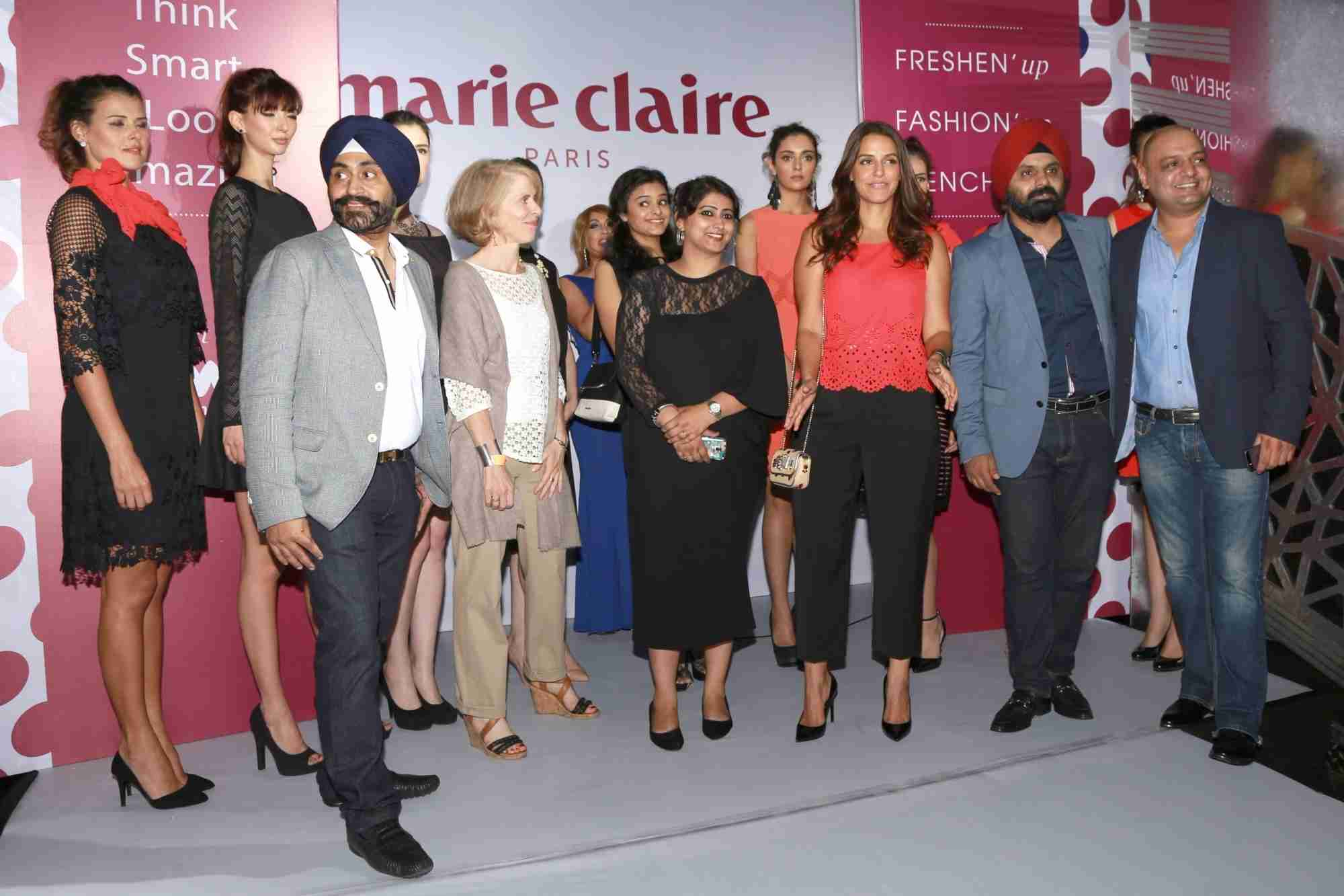 Neha Dhupia At Inaugration Of Marie Claire Pret Collection