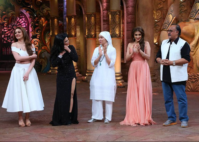 Nun Sofia Hayat On The Sets Of Comedy Nights Bachao