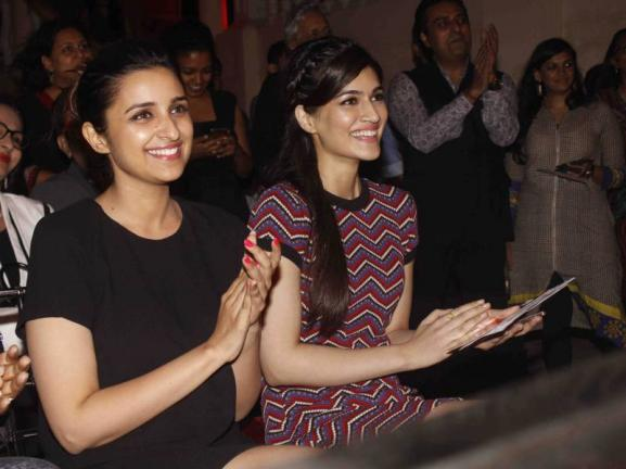 Parineeti Chopra, Aditi Rao & Kriti Sanon at The Soulful Seeker Book Launch Event