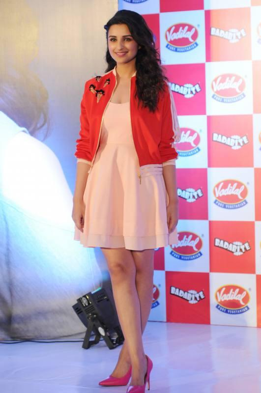 Parineeti Chopra launches Vadilal Ice-Cream