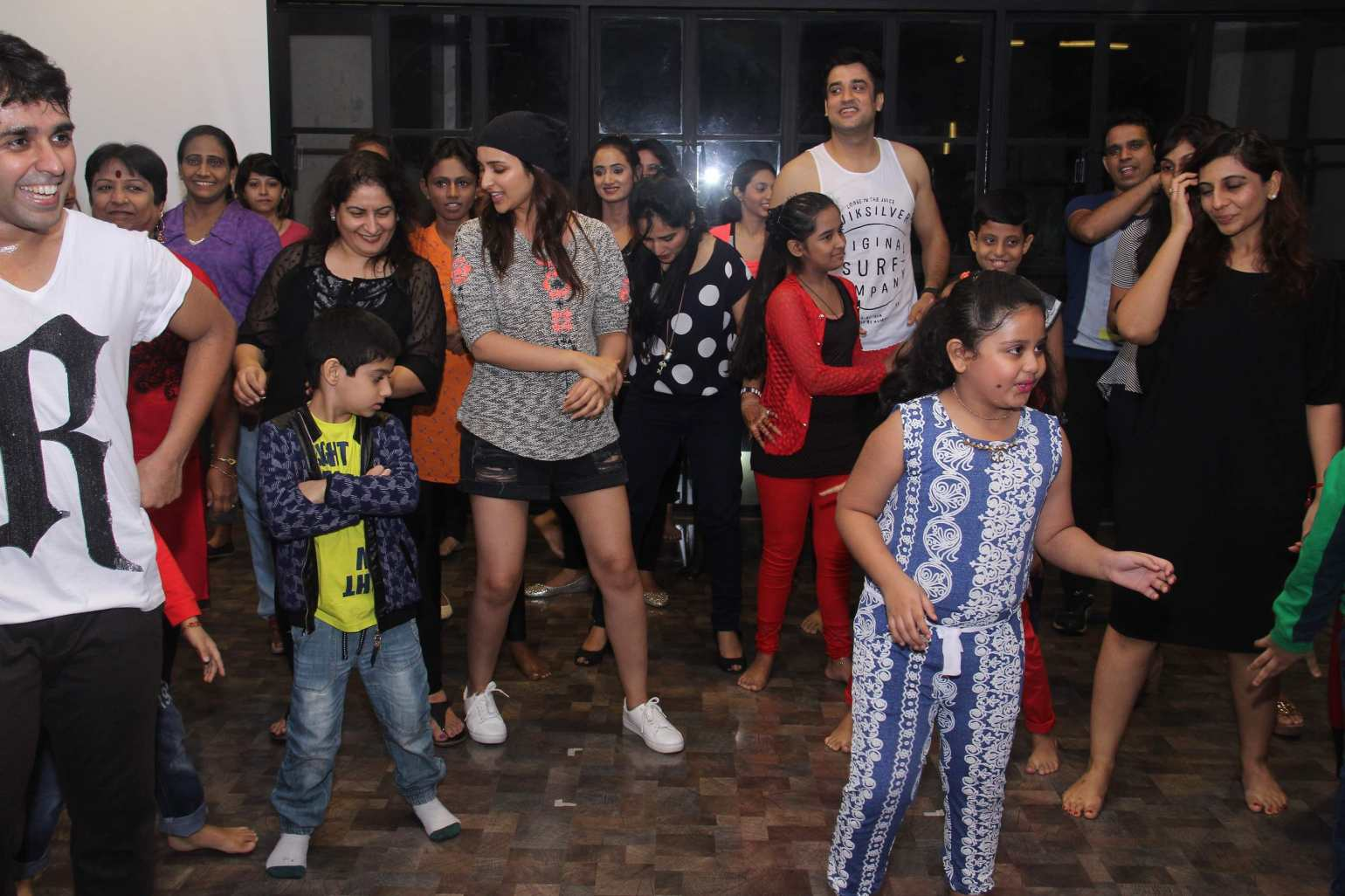 Parineeti Chopra at Strut Dance Academy Event Photos