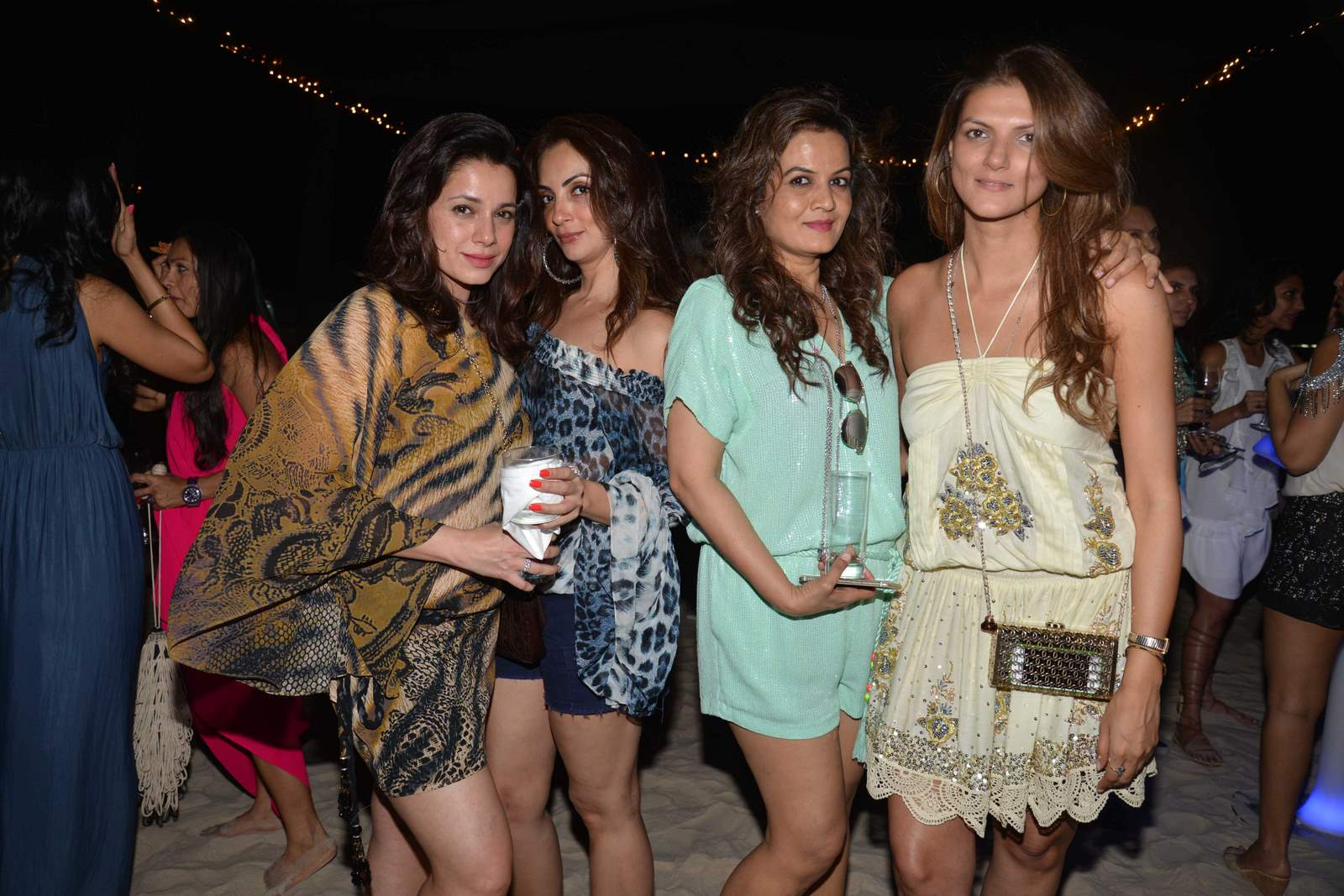 Planet Hollywood Beach Resort Goa Party