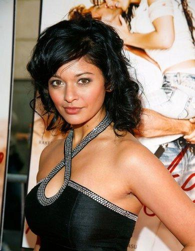 Pooja Kumar In Black Hot Dress