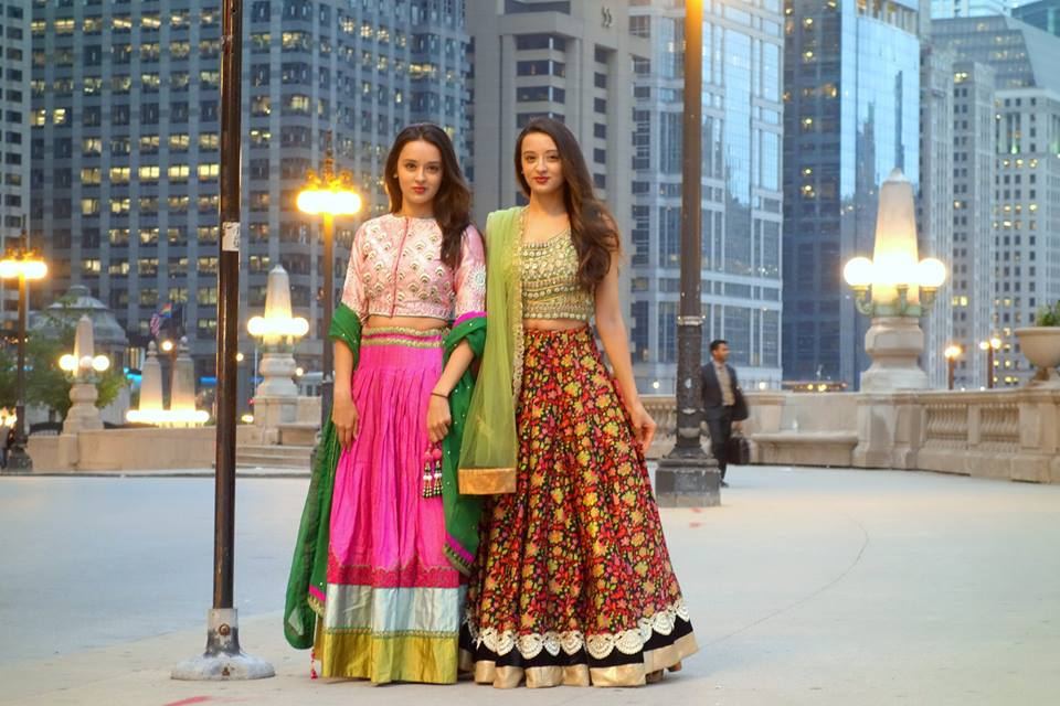 Poonam and Priyanka Shah