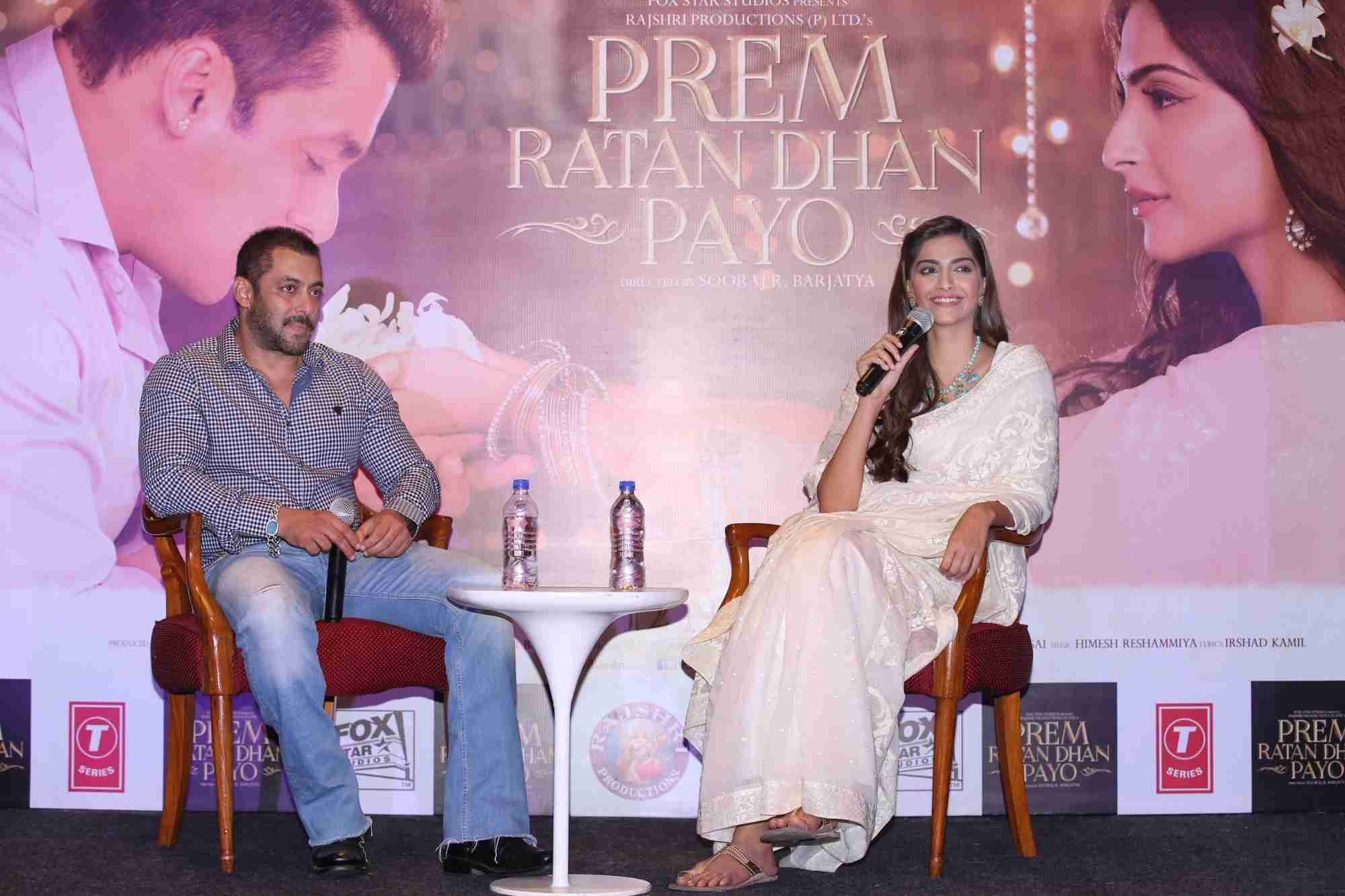 Prem Ratan Dhan Payo Movie Press Conference Photo Gallery