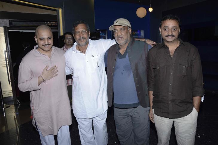 The Premiere of Marathi film Natsamrat