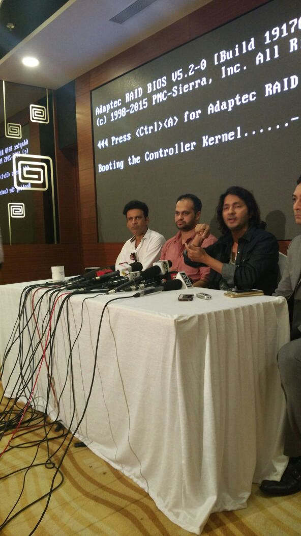 Press Conference of Film Kriti
