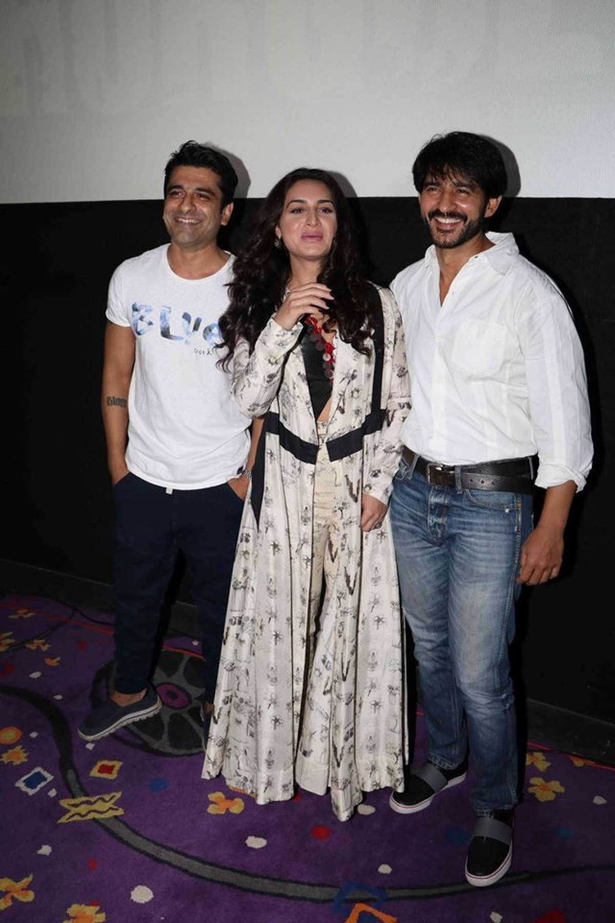 Hiten Tejwani, Suha Gezen & Eijaz Khan