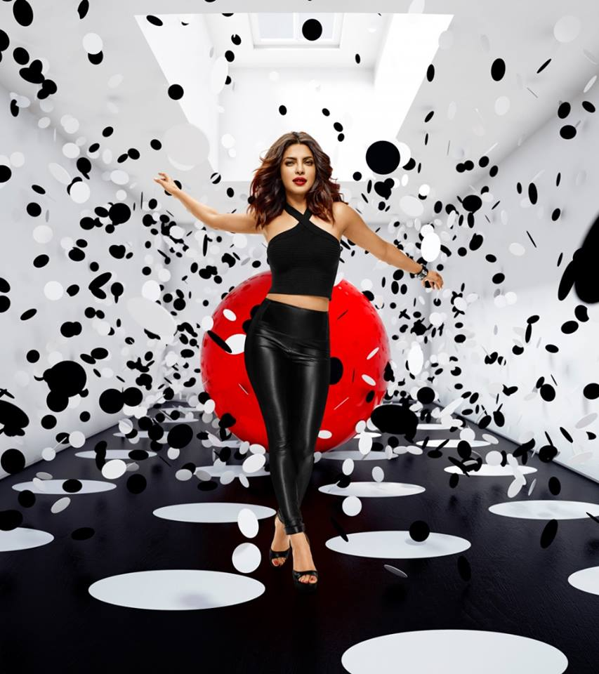 Priyanka Chopra Appy Fizz ad Shoot Photo Gallery