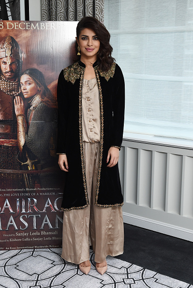 Priyanka Chopra at Bajirao Mastani Press Conference Event in New York