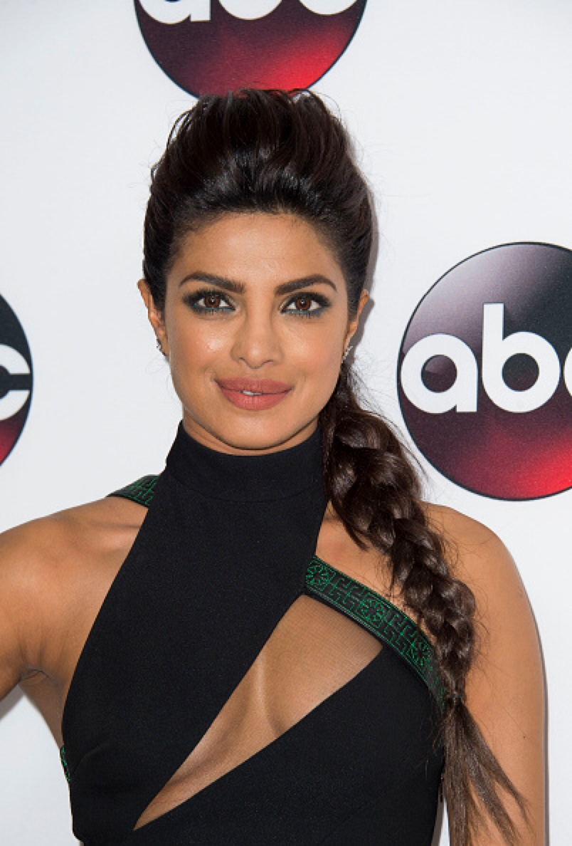 Priyanka Chopra New Hot Photos in Black Dress