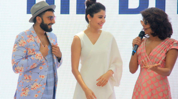 Priyanka Chopra & Ranveer Singhs at Dil Dhadakne Do Special Brunch