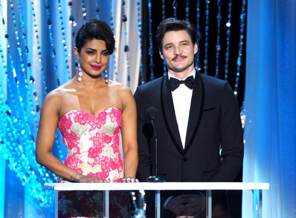 Priyanka Chopra Sag Awards Photo Gallery