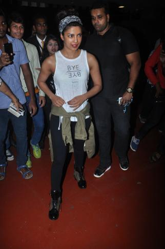 Priyanka Chopra Spotted in Mumbai Airport