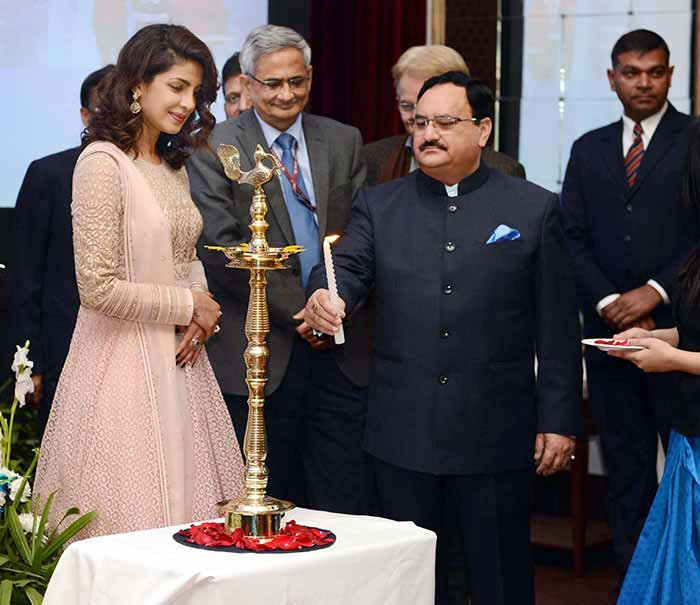 Priyanka Chopra UNICEF launch of Weekly Iron & Folic Acid Supplementation Awareness Campaign
