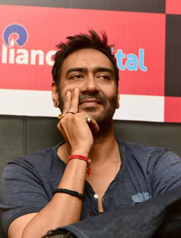 Promotion of film Drishyam in Ahmedabad