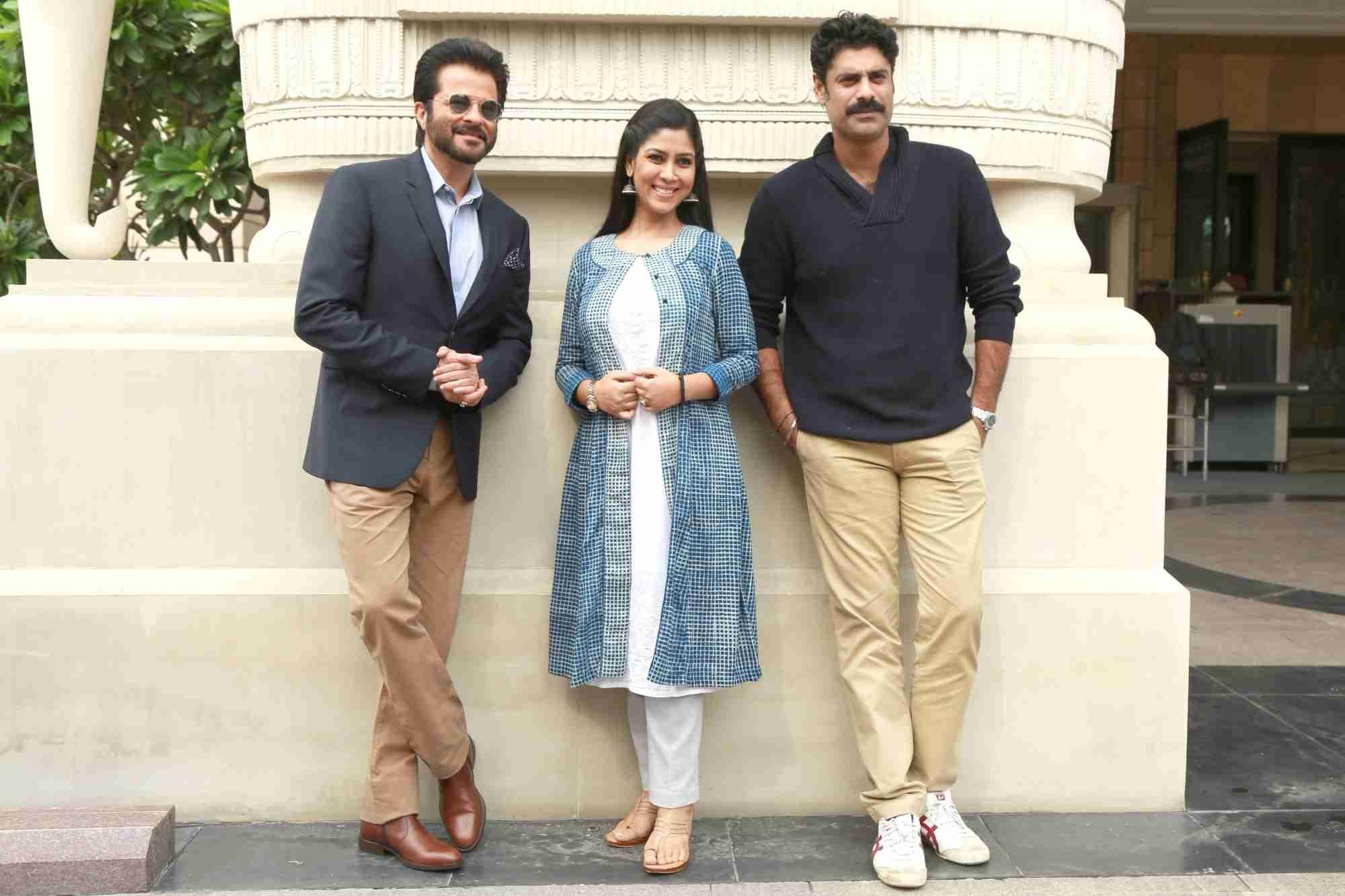Anil Kapoor, Sakshi Tanwar & Sikandar Kher