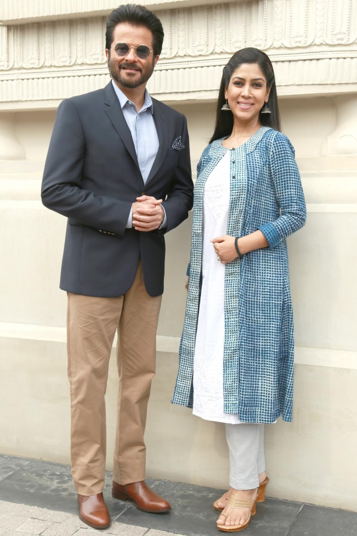 Anil Kapoor & Sakshi Tanwar
