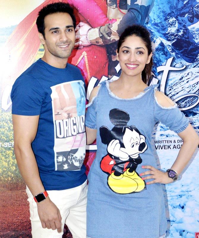 Pulkit Samrat & Yami Gautam